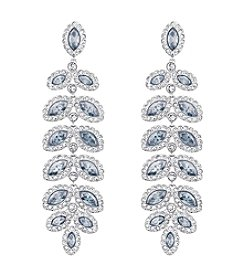 Swarovski® Baron Pierced Earrings