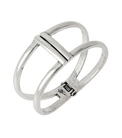 Kenneth Cole® Two Row Hinged Bangle Bracelet