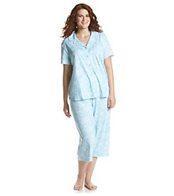 KN Karen Neuburger Plus Size Floral Pajama Set