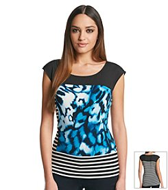 Calvin Klein Abstract Print Tank