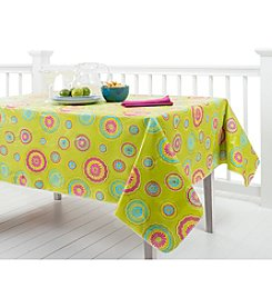 LivingQuarters Medallion Table Linens