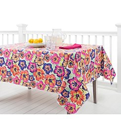 LivingQuarters Multi Floral Table Linens