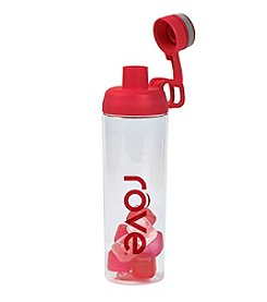 Rove® 30-oz. Red Angela Bottle with Ice Cubes