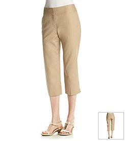 Laura Ashley® Twill Crop Pants