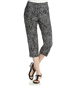 Laura Ashley® Dot Printed Crop