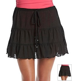 J. Valdi Tiered Skirt Cover-Up