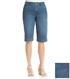 Bandolino® Ivette Denim Bermuda Shorts