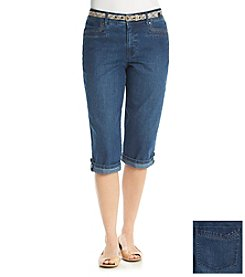 Gloria Vanderbilt® Marine Skimmer Pants
