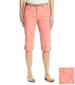 Gloria Vanderbilt® Marine Twill Skimmer Pants