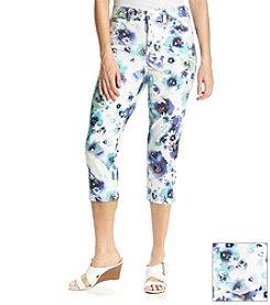 Gloria Vanderbilt® Simone Knit Printed Capri