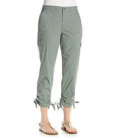 Gloria Vanderbilt Women's Zoey Cargo Cropped Pants
