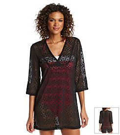 Jantzen® Crochet Tunic Cover Up