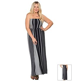 Becca® Plus Size Get Some Air Convertible Swim Dress