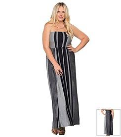 Becca® Plus Size Get Some Air Convertible Swim Dress