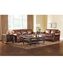 Lane Carson Leather Living Room Collection