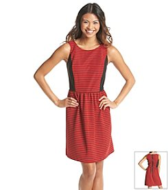 Kensie® Ribbed Stripe Dress
