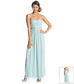 Trixxi® Strapless Glitter Dress