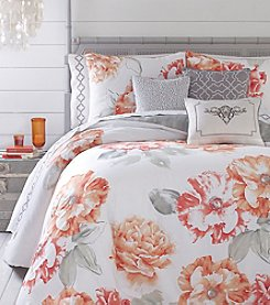 Jessica Simpson Golden Peony Comforter Bedding Collection