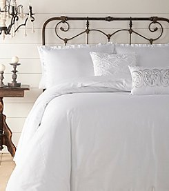 Jessica Simpson Twill Ruffle Comforter Bedding Collection