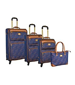 Adrienne Vittadini® Leopard 4-pc. Luggage Set