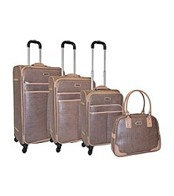 Adrienne Vittadini® Woven 4-pc. Luggage Set
