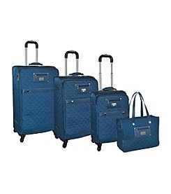 Adrienne Vittadini® Quilted 4-pc. Luggage Set