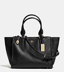 COACH CROSBY CARRYALL IN CROSSGRAIN LEATHER