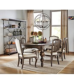 Universal Great Rooms Brownstone Dining Room Collection