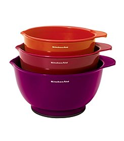 KitchenAid® Set of Three Mixing Bowls