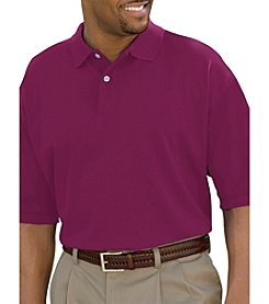 Harbor Bay® Men's Big & Tall Short Sleeve Pique Polo