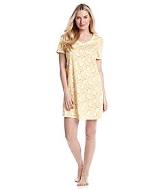 Intimate Essentials® Bouquet V-Neck Sleepshirt