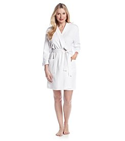 Jasmine Rose® White Waffle Robe