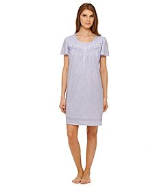 Aria® Periwinkle Leaves Night Gown