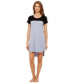 Ellen Tracy® Blue Colorblock Sleepshirt