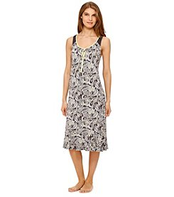 Ellen Tracy® Paisley Sleep Gown
