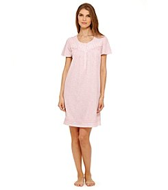 Aria® Pink Leaves Sleep Gown