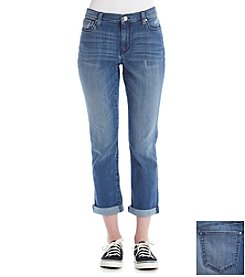 DKNY JEANS Soho Skinny Rolled Crop Jeans