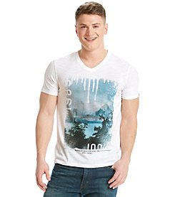 DKNY JEANS® Men's Hybrid Nature V-Neck