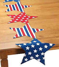 LivingQuarters Star Shaped Runner