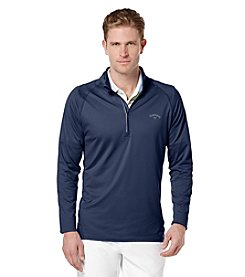 Callaway® Men's Long Sleeve 1/4 Zip Mock Neck Pullover