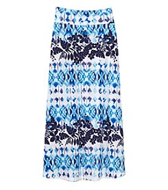 Amy Byer Girls' 7-16 Straight Hem Maxi Skirt