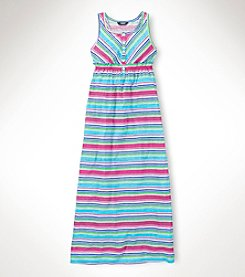 Chaps® Girls' 7-16 Multi Striped Maxi Dress