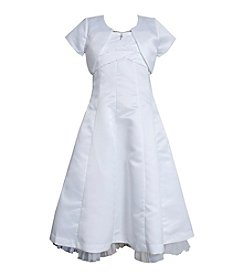 Bonnie Jean® Girls' 7-16 Pleated Dress With Pearls