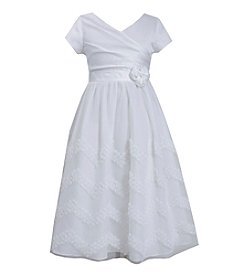Bonnie Jean® Girls' 7-16 Capsleeve Crossover Dress