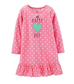 Carter's® Girls' 2-14 Jersey Ruffle-Hem Sleep Shirt