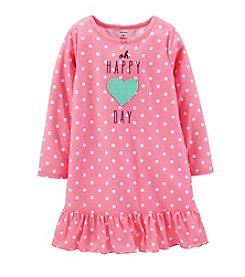 Carter's® Girls' 2-14 Jersey Ruffle-Hem Sleep Shirt