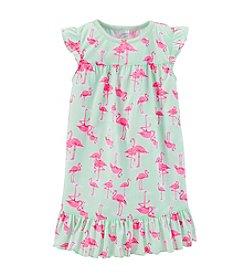 Carter's® Girls' 2-14 Jersey Ruffle Hem Gown