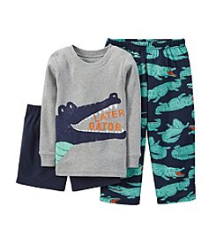 Carter's® Boys' 12M-12 3-Piece Jersey Pajamas