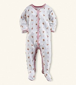 Ralph Lauren® Baby Girls' Interlock Coverall