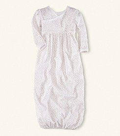 Ralph Lauren Childrenswear Baby Girls' Floral Interlock Gown